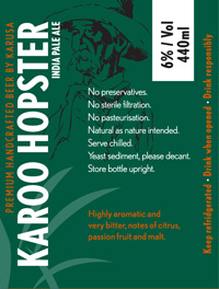 Karoo Hoster India Pale Ale